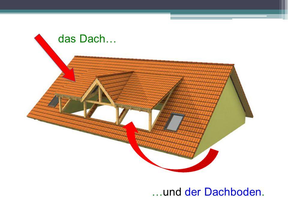 MASCULINUMFEMININUMNEUTRUM GartenKüche-zimmer FlurTerrasseTreppenhaus EingangGarageDach DachbodenTreppe Toilette Keller