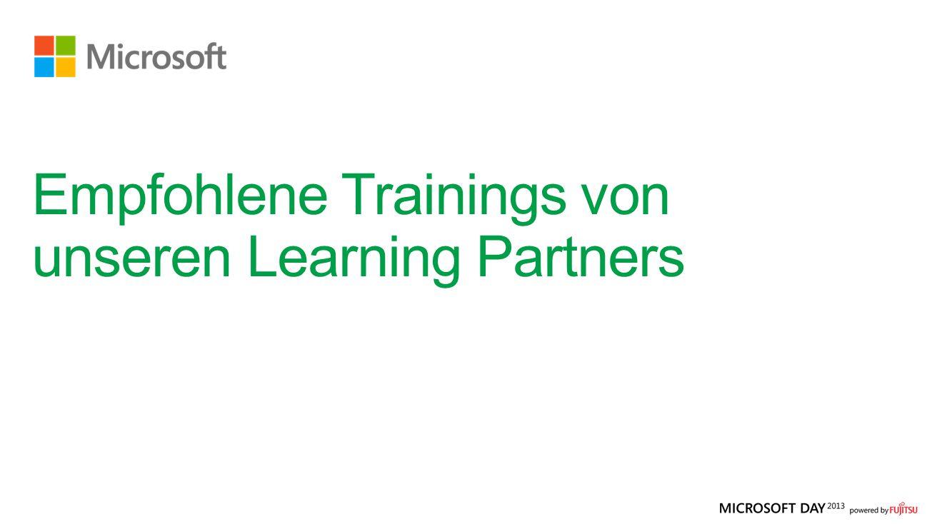 Empfohlene Trainings von unseren Learning Partners