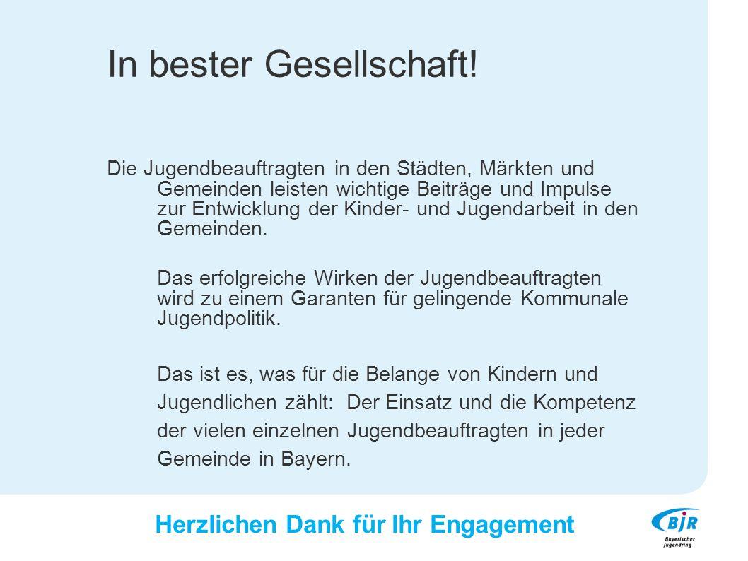 Konzept, Text: Winfried Pletzer Bayerischer Jugendring 2014