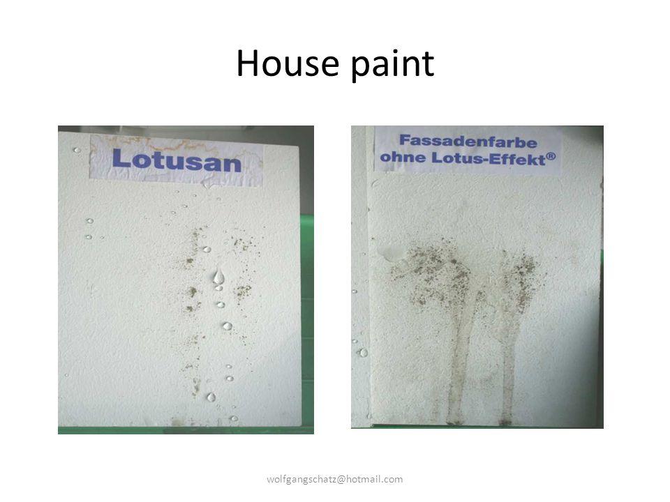 House paint wolfgangschatz@hotmail.com