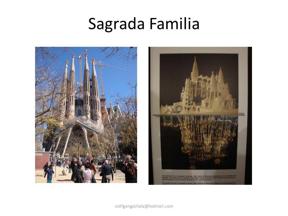 Sagrada Familia wolfgangschatz@hotmail.com