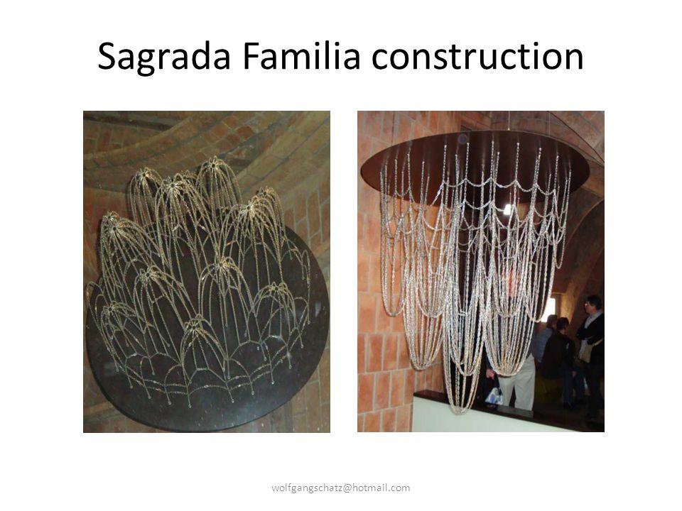 Sagrada Familia construction wolfgangschatz@hotmail.com