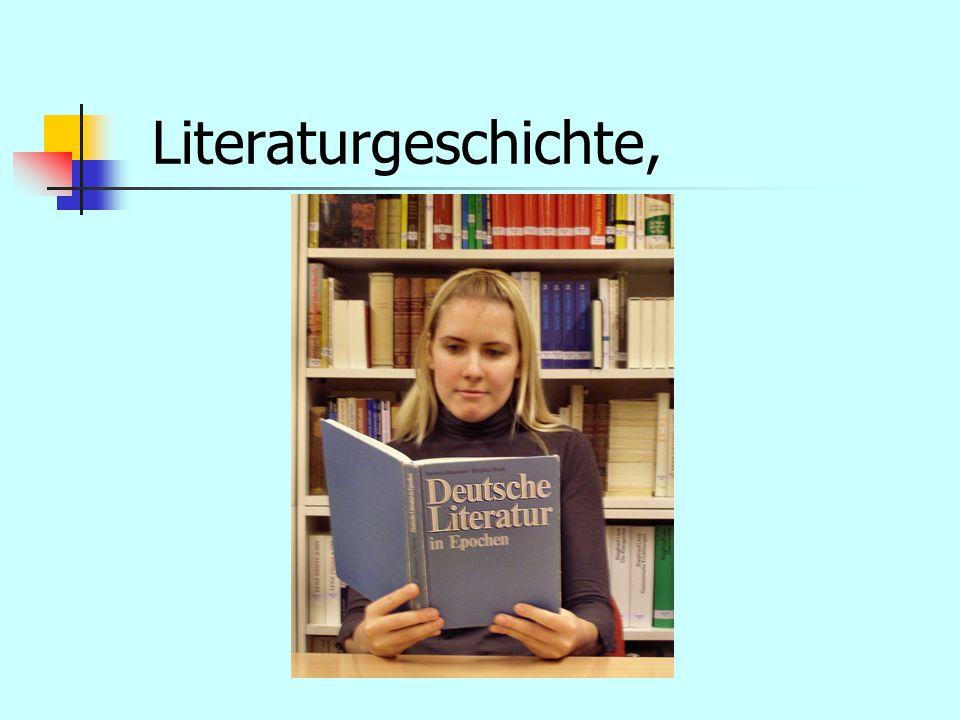 Literaturgeschichte,