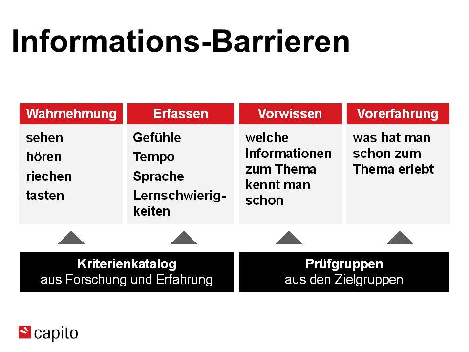 Informations-Barrieren
