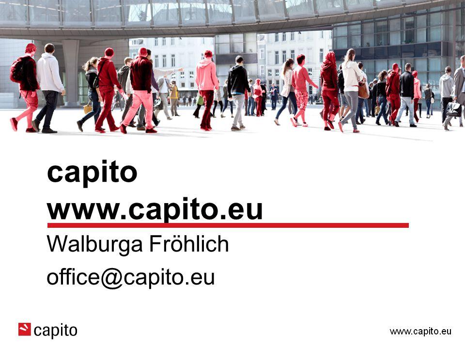 capito www.capito.eu Walburga Fröhlich office@capito.eu