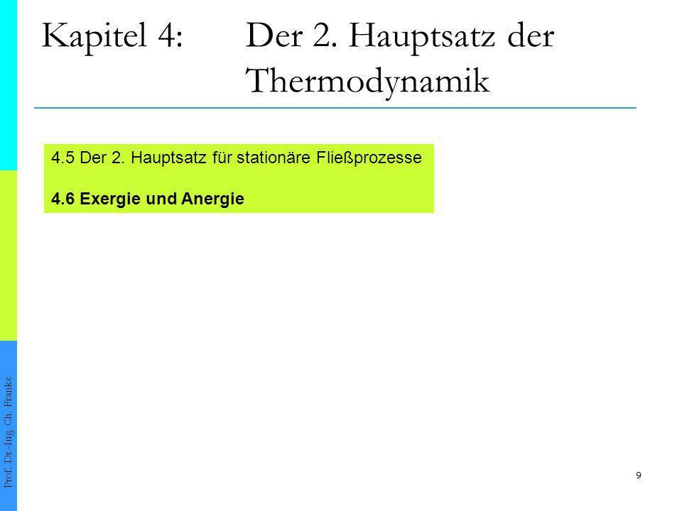 10 4.6Exergie und Anergie Prof.Dr.-Ing. Ch.