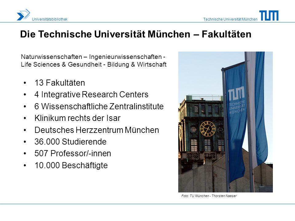 Technische Universität München Universitätsbibliothek 103.