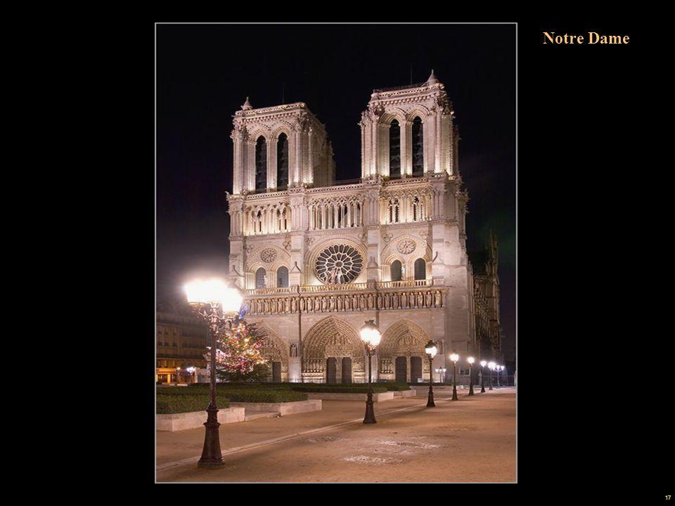 16 Notre Dame Cúpula del Instituto de Francia Puente del Carrusel Drehbrücke Kuppel des Institut de France