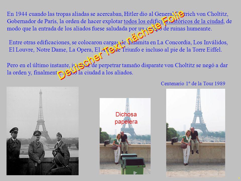 1 Edith Piaf – Rien de rien Emilio - Dic 07 Deutsche Übersetzung: Walter Weith Deutsche Übersetzung: Walter Weith