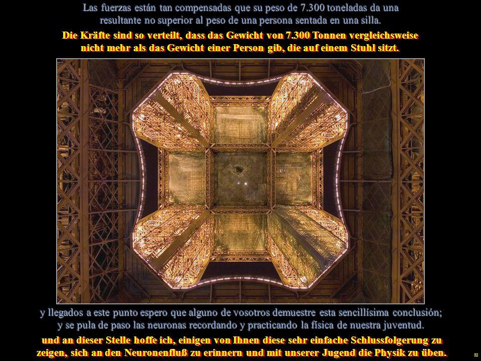 31 Estaba previsto en sus comienzos la destrucción de la torre metálica en 1900, después de la Exposición, pero … … las pruebas de transmisión radiofó