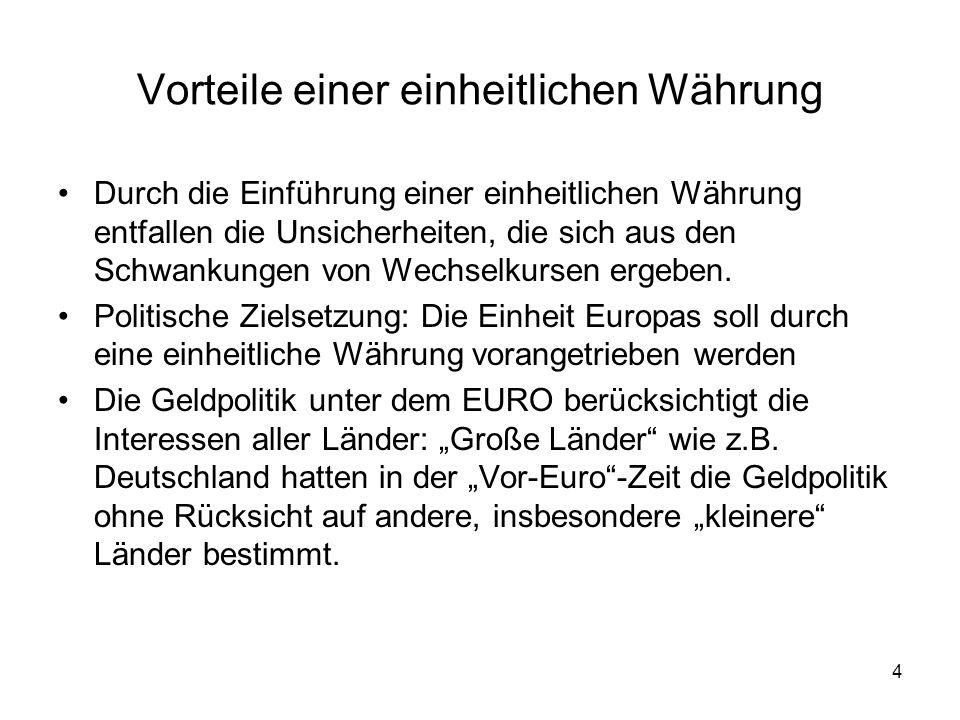25 Ratifizierung des Maastricht Vertrages Deutschland –Das deutsche Verfassungsgericht wurde von Gegnern des Vertrages angerufen um eine Entscheidung bezüglich der Vereinbarkeit mit dem deutschen Grundgesetz herbeizuführen –Das Gericht benötigte einige Monate für seine Entscheidung und beschloss, dass der Vertrag der Deutschen Verfassung nicht widersprach –Dies wiederum erlaubte es dem Deutschen Bundestag, den Vertrag im Jahr 1993 zu ratifizieren (als letztem Land)
