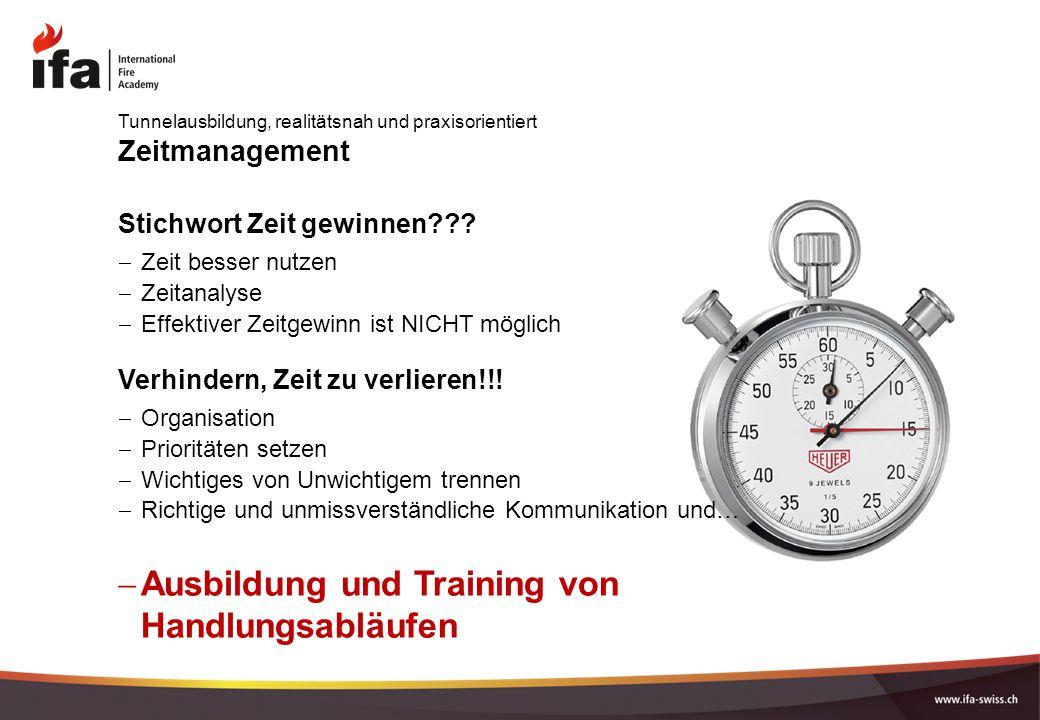 Zeitmanagement Stichwort Zeit gewinnen??.