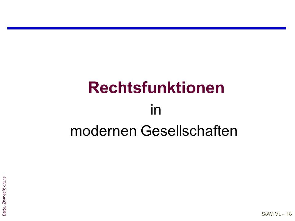 """SoWi VL - 17 Barta: Zivilrecht online Zum Begriff des 'Rechtsstaates' qAischylos: """"Wenn Macht und Recht in einem Joche gehen, welch Zweigespann kann s"""