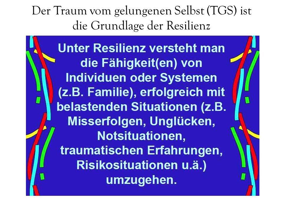 Der Traum vom gelungenen Selbst (TGS) ist die Grundlage der Resilienz