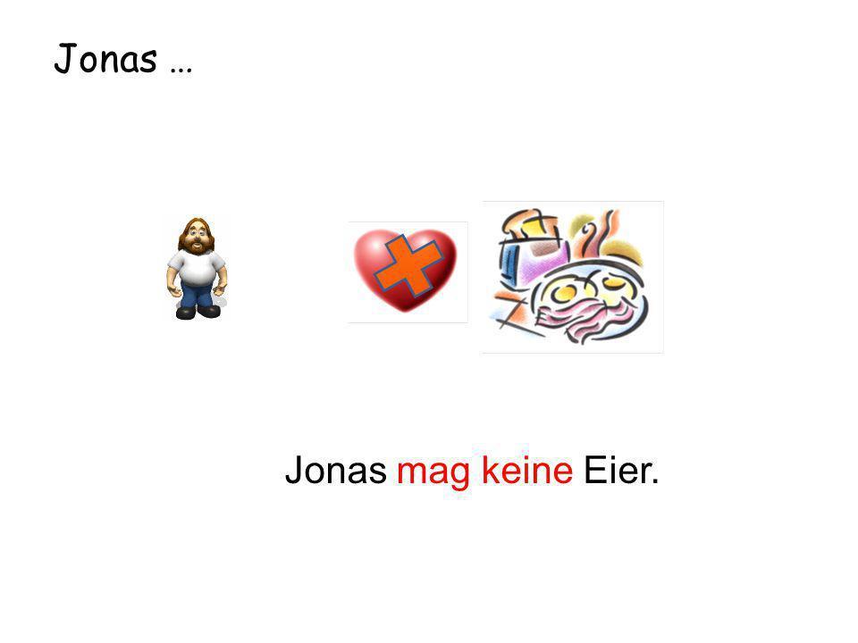 Jonas … Jonas mag keine Eier.