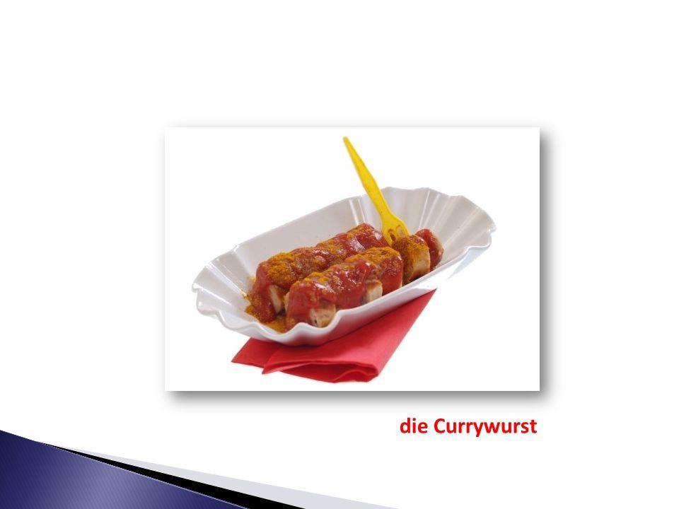 Heiko will eine Currywurst. HEIKO