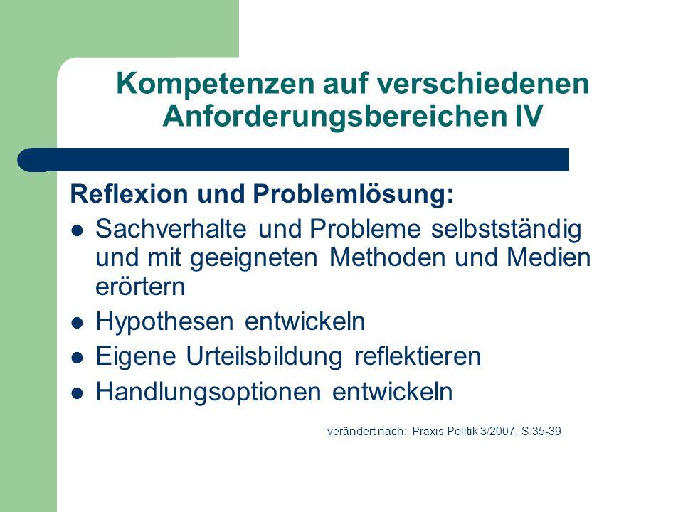 Der Weg zur kompetenzorientierten Unterrichts- und Leistungskultur I Langfristige Planung ist notwendig!.