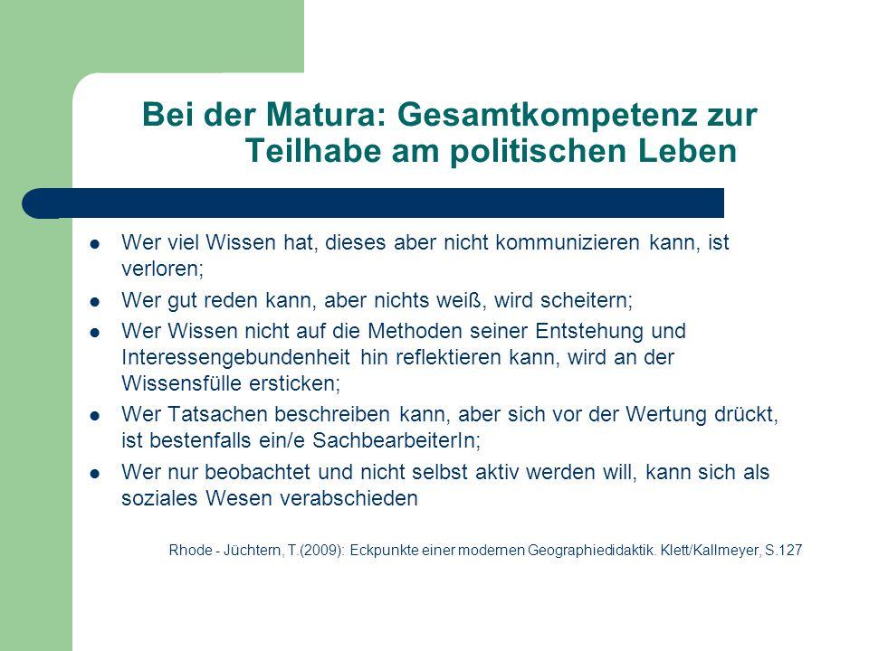 Literatur Fahse,C.(2004):Wie unterrichtet man Kompetenzen.