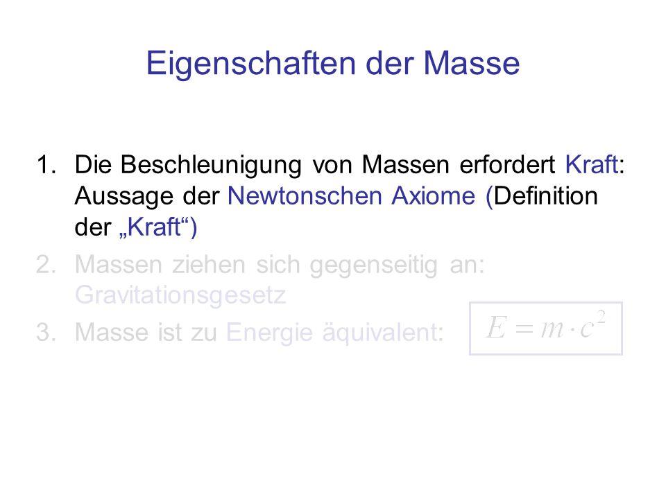 """finis Beschleunigung nur mit Kraft Eigenschaft der """"trägen Masse """"Massenpunkt"""