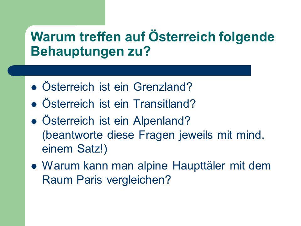 Österreich im Herzen Europas Fall des Eisernen Vorhanges Beitritt zur EU Beitritt der ehemaligen Länder der Monarchie zur EU Expansion vieler Unternehmen nach Osteuropa