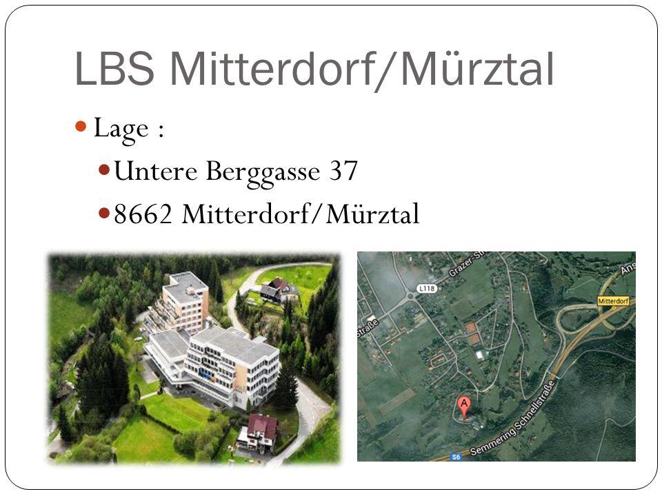 Lage : Untere Berggasse 37 8662 Mitterdorf/Mürztal