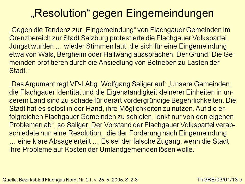 ThGRE/03/01/13 c Quelle: Bezirksblatt Flachgau Nord, Nr.