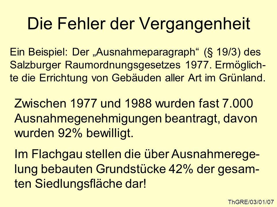 Die Fehler der Vergangenheit Hochleistungs- strecke der ÖBB?ThGRE/03/01/08