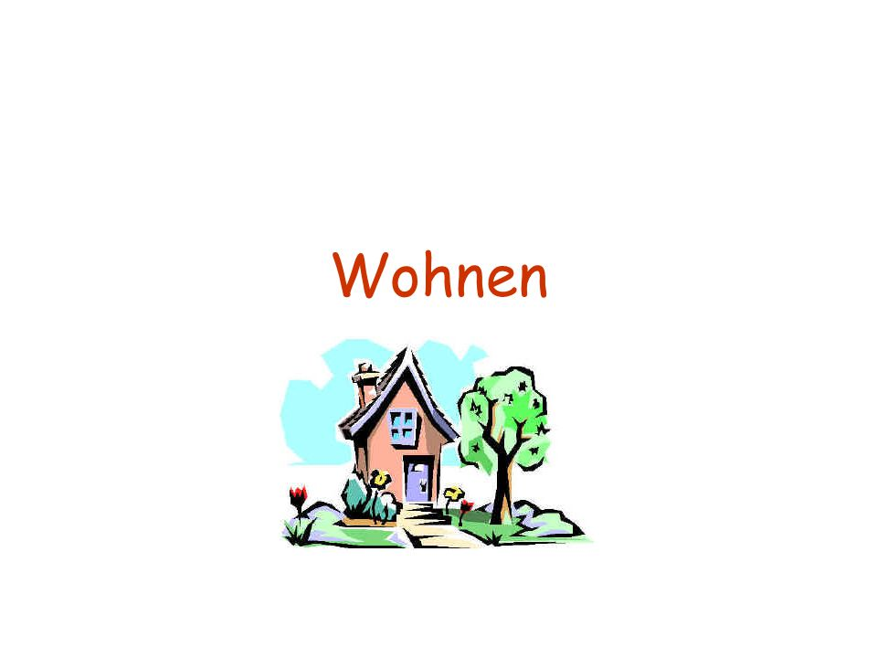 Welche Arten von Wohnungen gibt es?