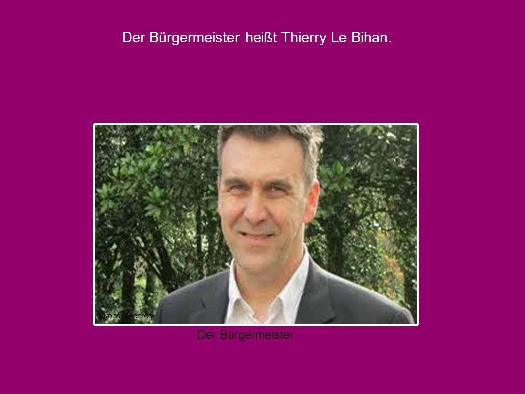 Der Bürgermeister heißt Thierry Le Bihan. Droits réservés Der Bürgermeister