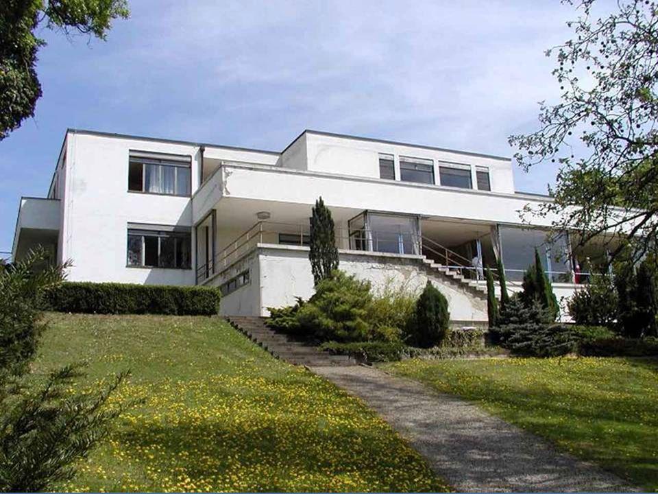 Villa Tugendhat in Brno, ist ein einzigartiges Beispiel der Zwischenkriegszeit funktionalistischen Architektur. Es wurde vom deutschen Architekten Lud
