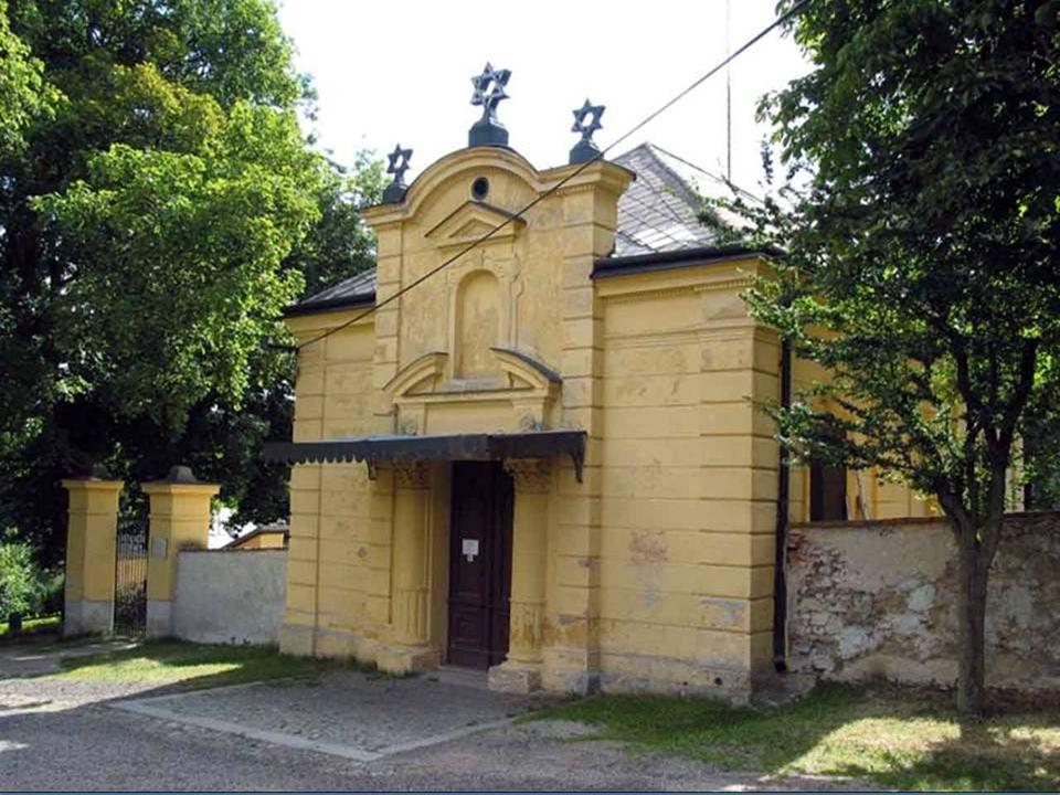 Třebíč Das jüdische Viertel und die Basilika St. Prokop´s in Trebitsch ist außergewöhnlich einzigartige architektonische Beispiel gut erhaltenen mitte