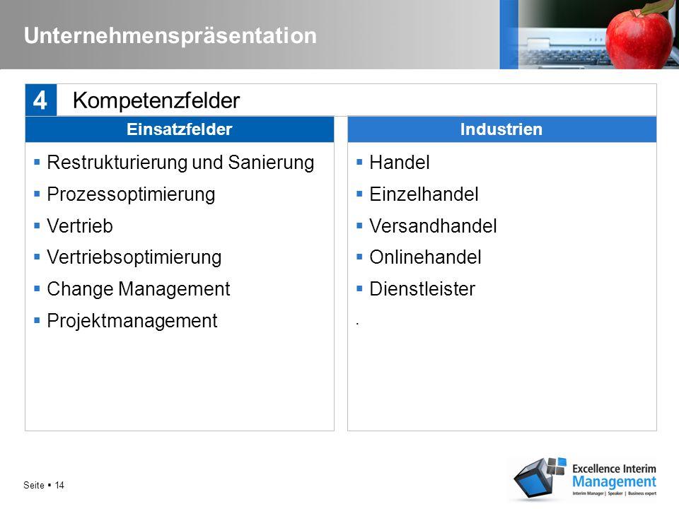 Seite  13 Kernfunktionen  CEO / Vorsitzender der Geschäftsführung  CSO / Geschäftsführung Vertrieb  Geschäftsführer  Verkaufsleiter  Vertriebsle