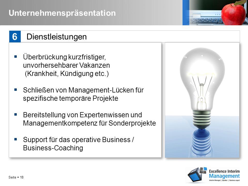 Seite  17 Unternehmenspräsentation