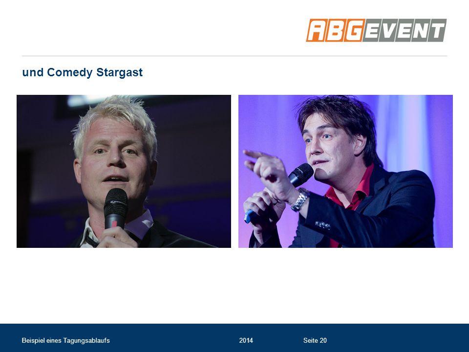 und Comedy Stargast Beispiel eines Tagungsablaufs2014Seite 20