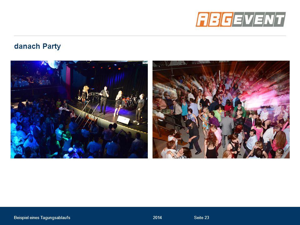 danach Party Beispiel eines Tagungsablaufs2014Seite 23