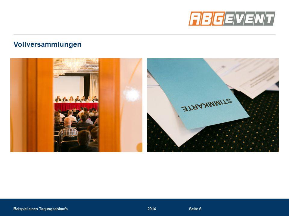 Vollversammlungen Beispiel eines Tagungsablaufs2014Seite 6