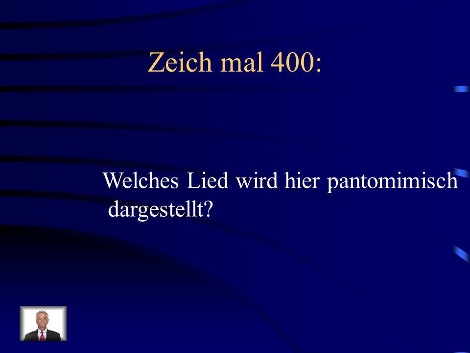 Antwort Zeich mal 300: Das Wandern ist des Müllers Lust das Wandern ist des Müllers Lust das Wa-An-dern.