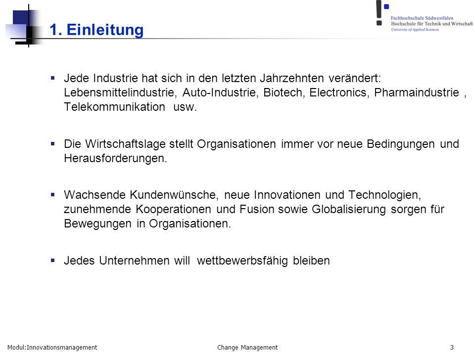 Modul:Innovationsmanagement Change Management 14 3.