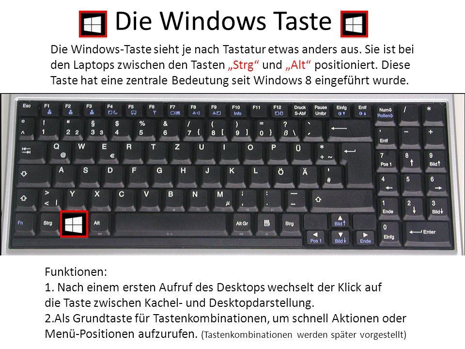 """Die Windows-Taste sieht je nach Tastatur etwas anders aus. Sie ist bei den Laptops zwischen den Tasten """"Strg"""" und """"Alt"""" positioniert. Diese Taste hat"""