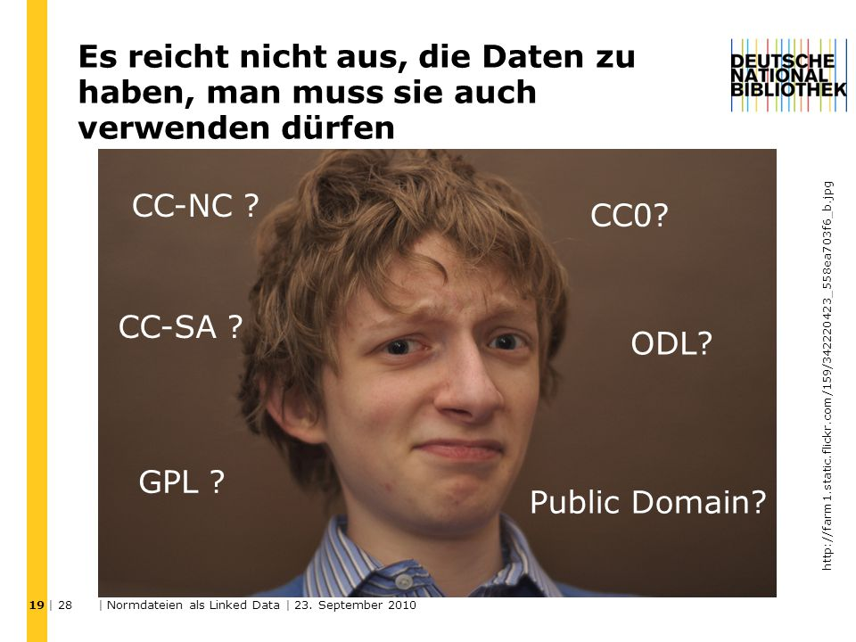 | 28 | Normdateien als Linked Data | 23.
