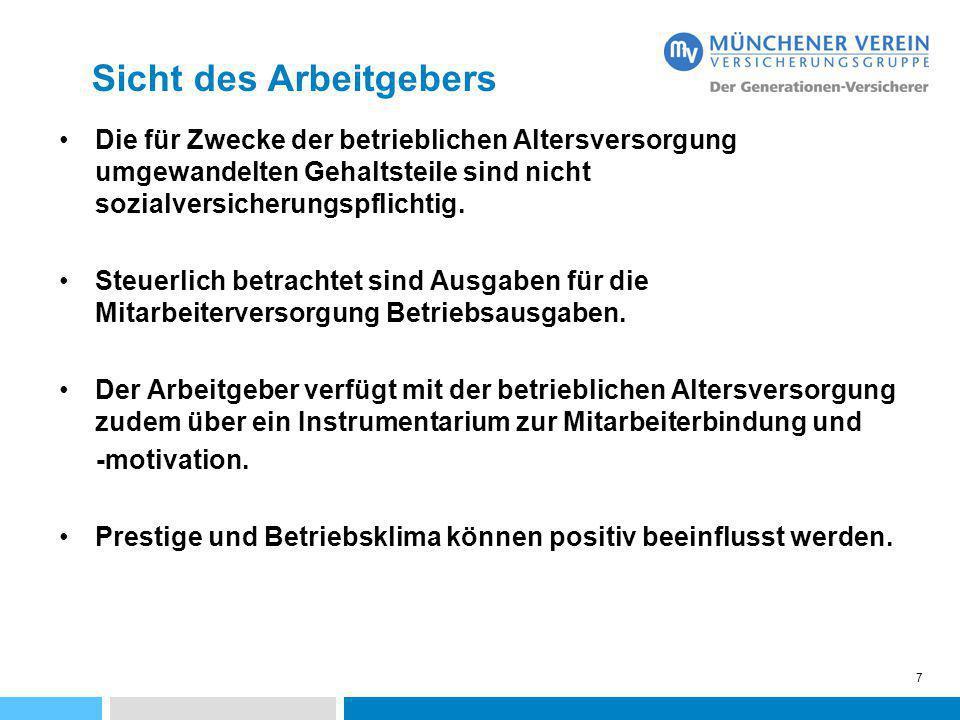 28 MÜNCHENER VEREIN Regionaldirektion Südbayern Pettenkoferstr.