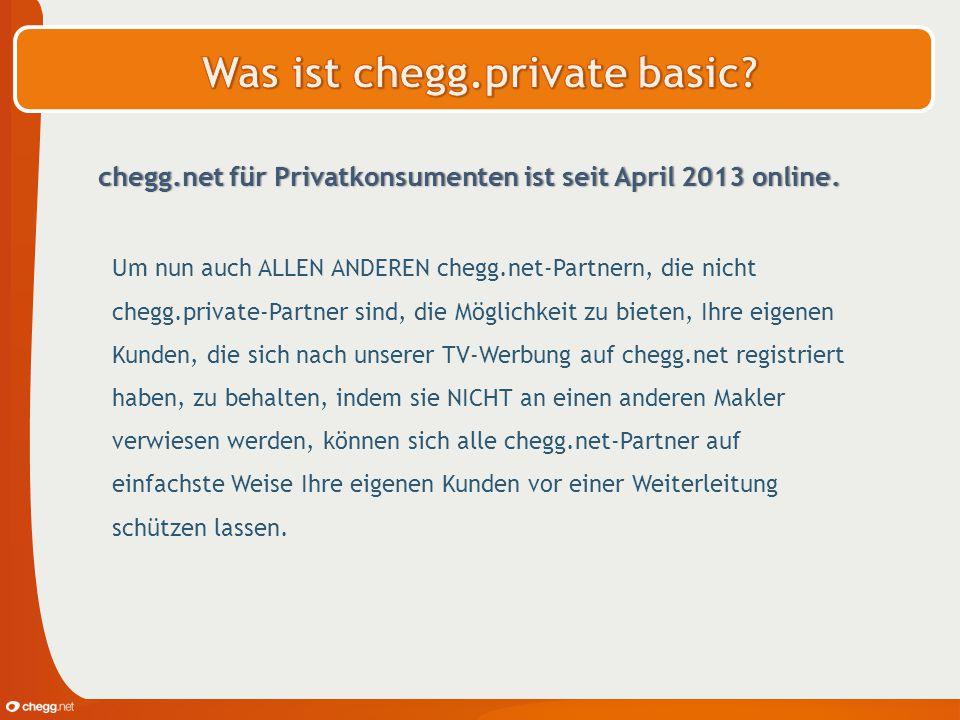 chegg.net für Privatkonsumenten ist seit April 2013 online. Um nun auch ALLEN ANDEREN chegg.net-Partnern, die nicht chegg.private-Partner sind, die Mö