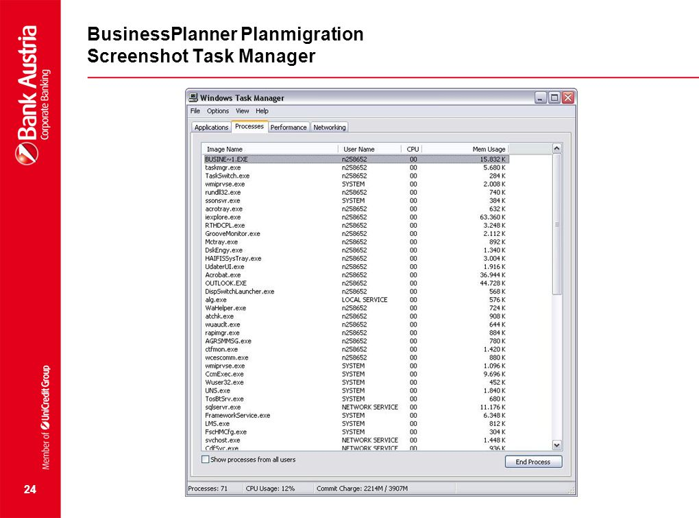 BusinessPlanner Planmigration Screenshot Task Manager 24