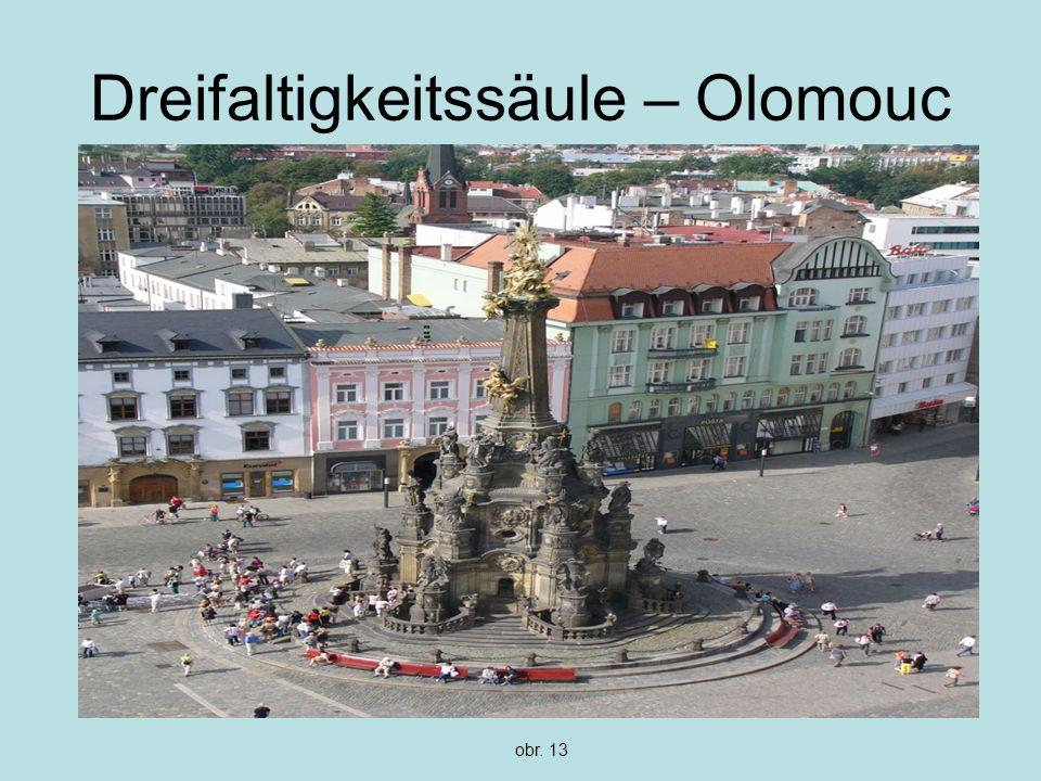 Dreifaltigkeitssäule – Olomouc obr. 13