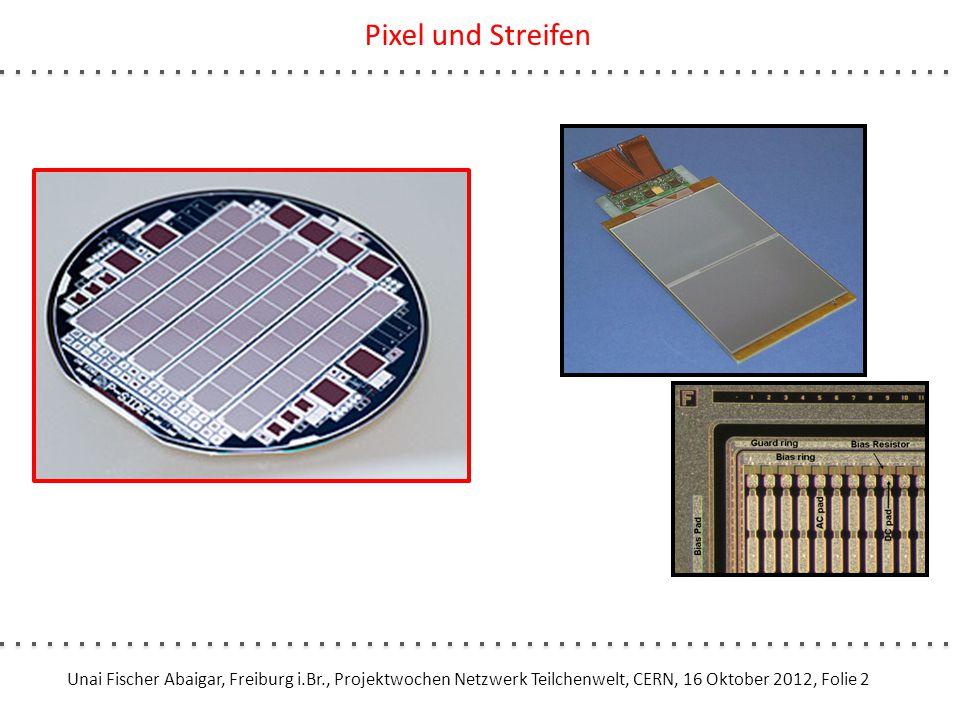 Unai Fischer Abaigar, Freiburg i.Br., Projektwochen Netzwerk Teilchenwelt, CERN, 16 Oktober 2012, Folie 3 Verschlechterung des Detektorsignals Streifen: max.