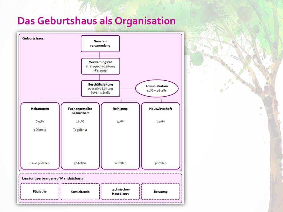 Das Geburtshaus als Organisation
