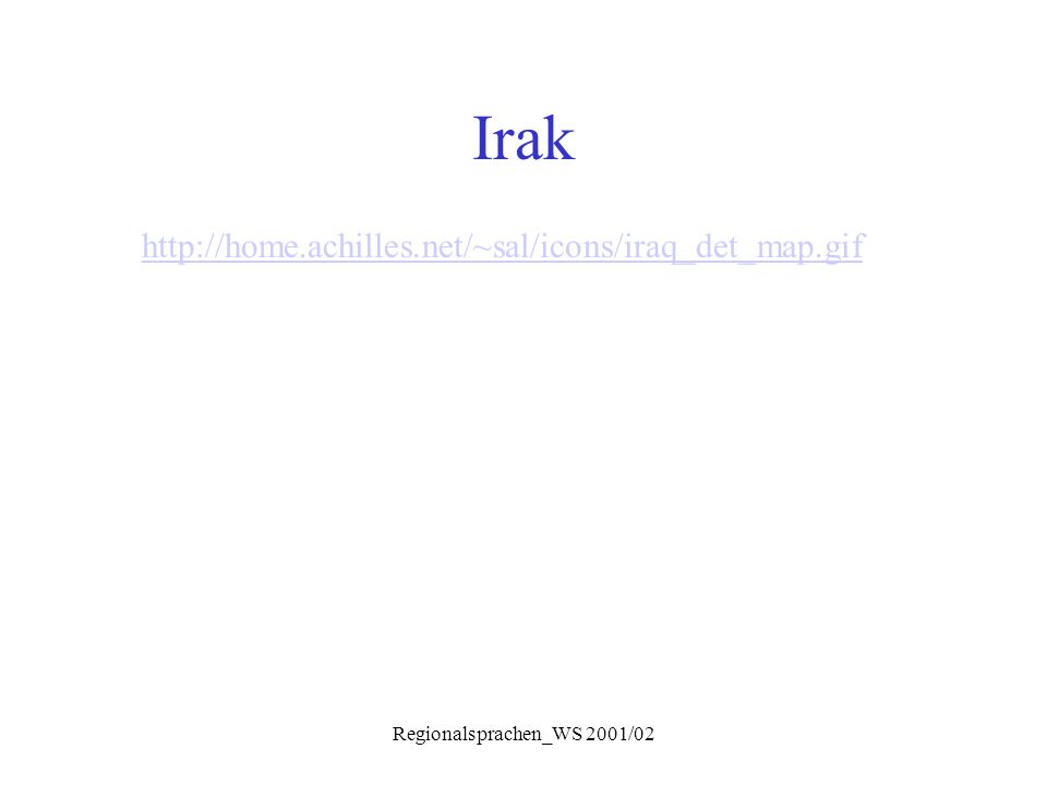 Regionalsprachen_WS 2001/02 Phonologie Konsonanten  q: erhalten in qəltu; in gilit: q > g (in ländl.