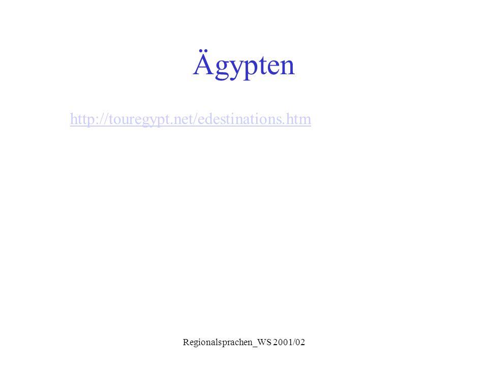 Regionalsprachen_WS 2001/02 Syntax Fragesätze  Fragewort steht oft am Ende: ʕ a:jiz ʔ e:h.