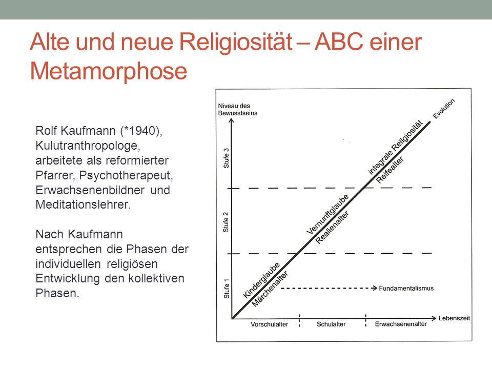 Alte und neue Religiosität – ABC einer Metamorphose Beispiel: Dämonen Phase 1 Dämonen sind die Antipoden der Engel.