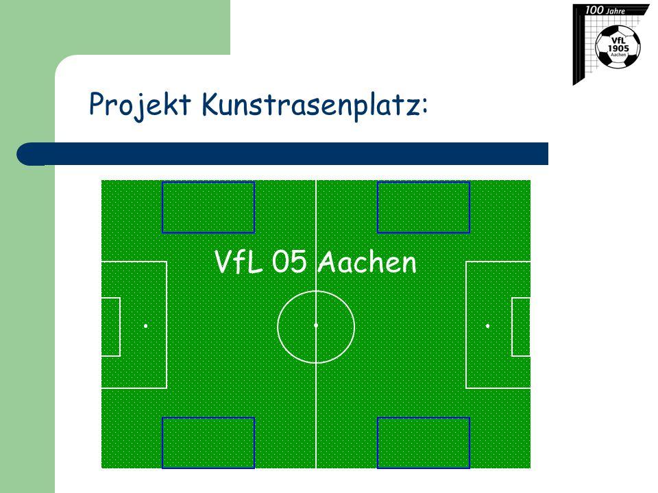 Projekt Kunstrasenplatz: VfL 05 Aachen
